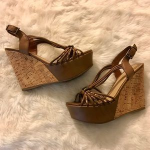 Shoes - Aldo genuine leather summer sexy wedge